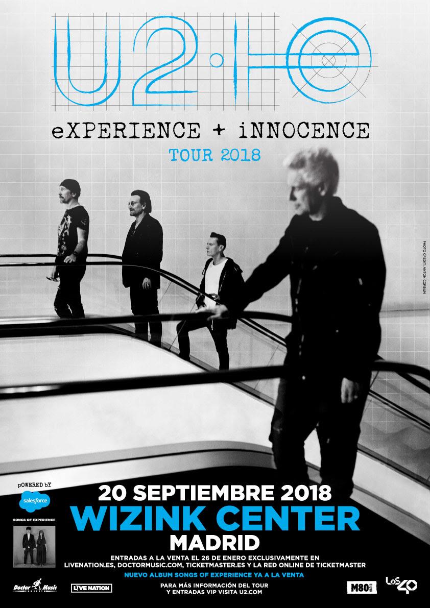 U2Experience+InnocenceTourMadrid2018