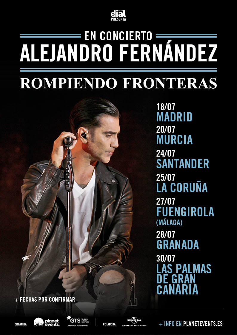 Alejandro Fernandez Gira 2018