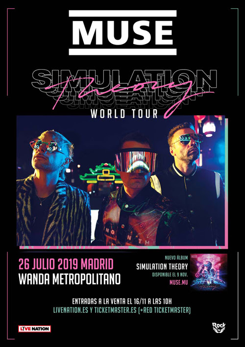 MUSE Madrid Simulation Theory World Tour 2019_myipop