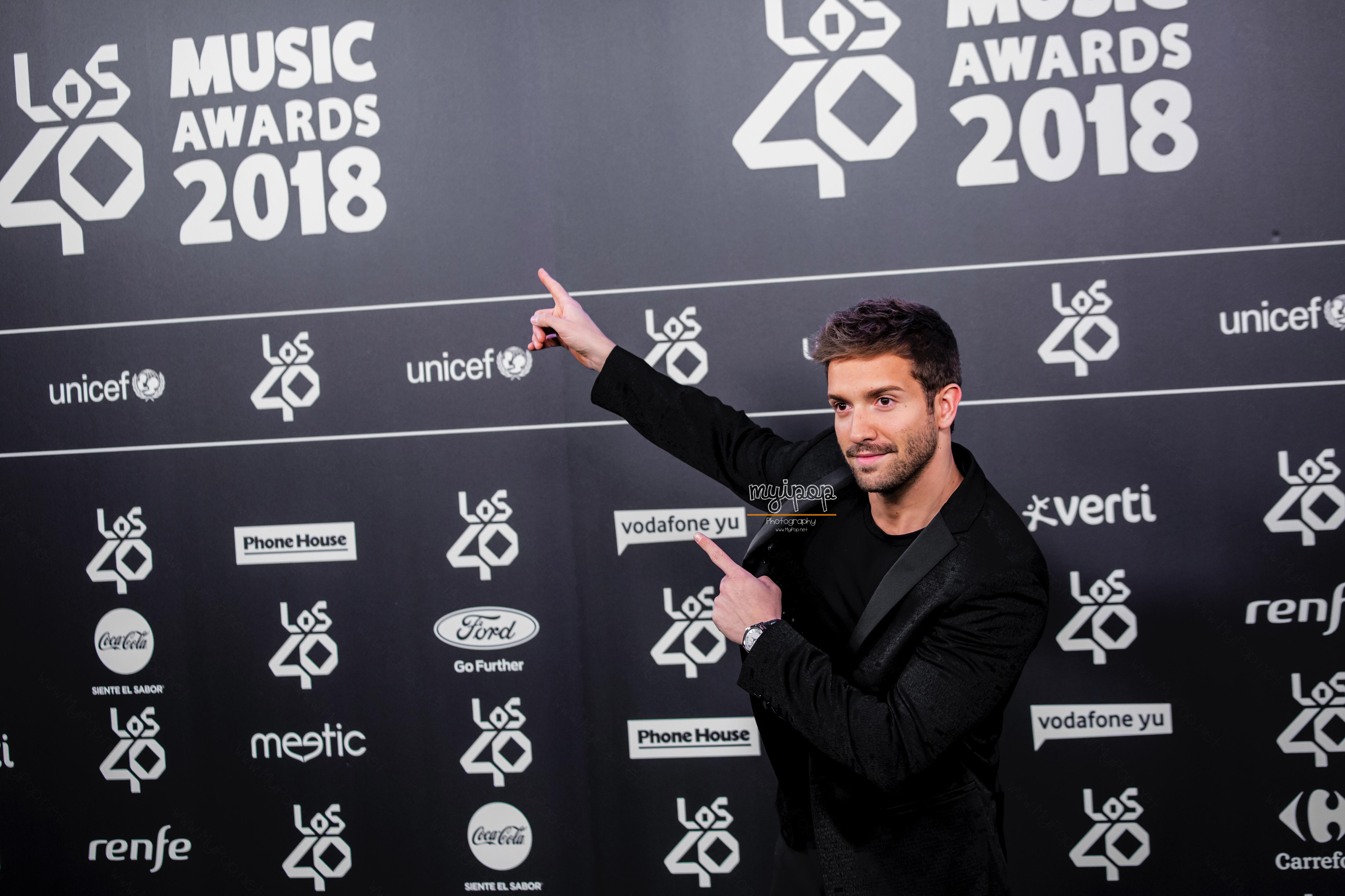 Pablo Alborán_Los40MusicAwards2018_MyiPop