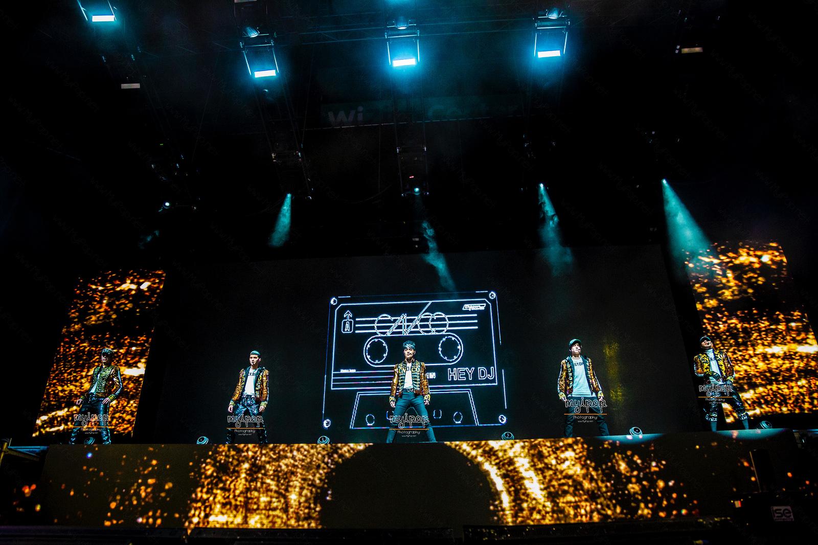 CNCO concierto Madrid
