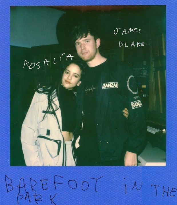 James Blake Rosalía Barefoot In The Park