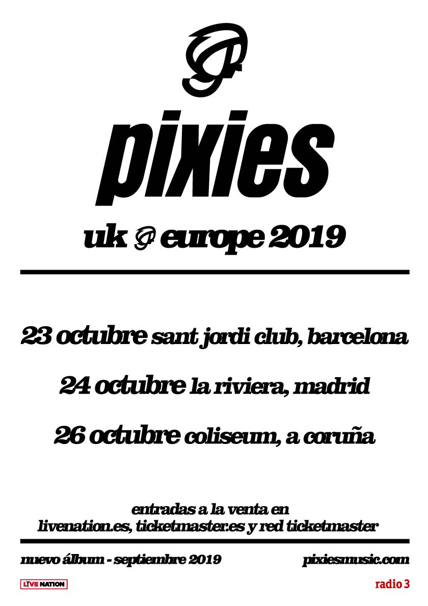 Pixies_GiraEspaña2019