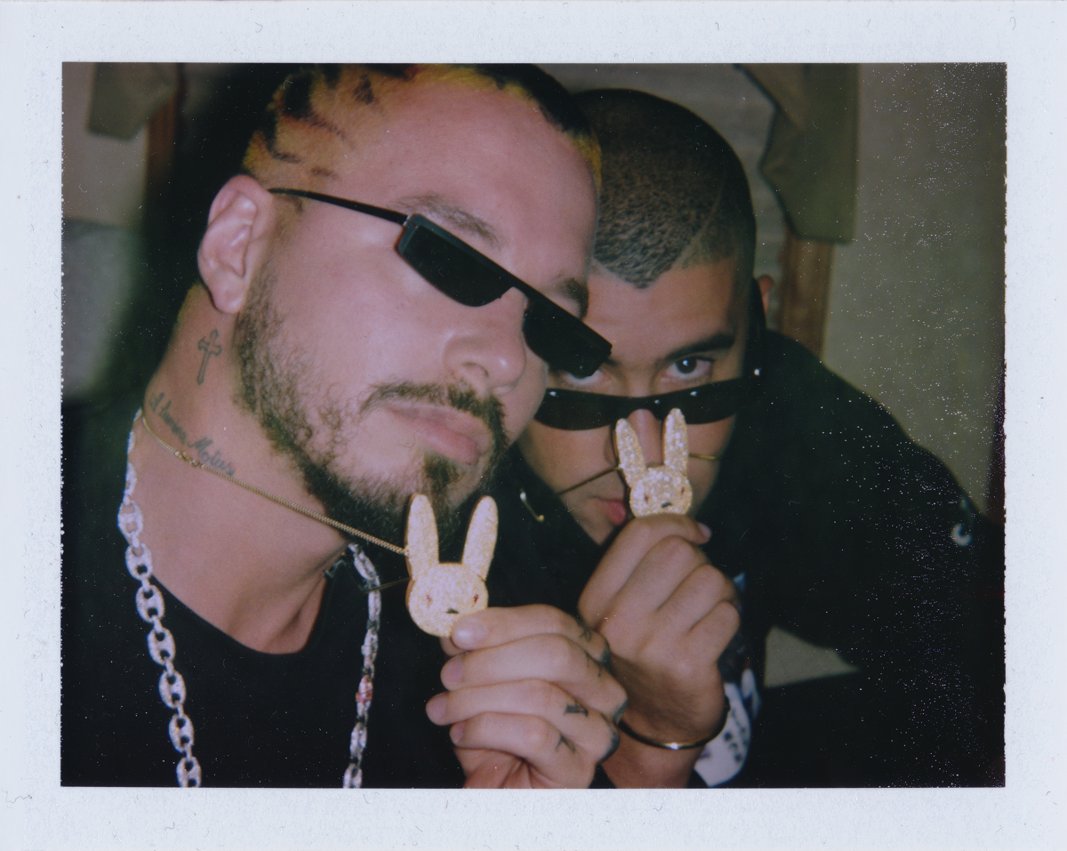 J-Balvin-Bad-Bunny-Polaroid