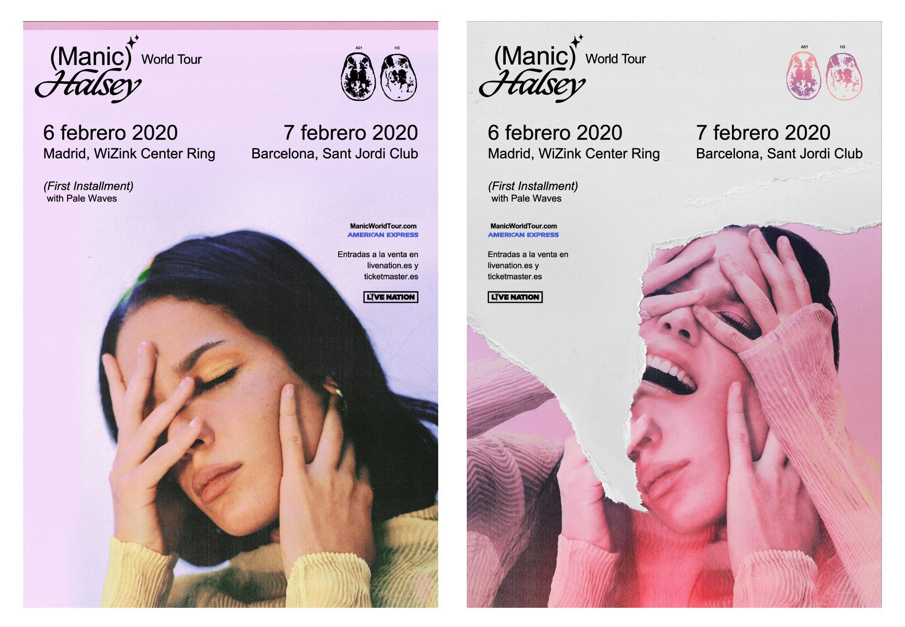 Halsey-Maniac World Tour 2020-Madrid-Barcelona