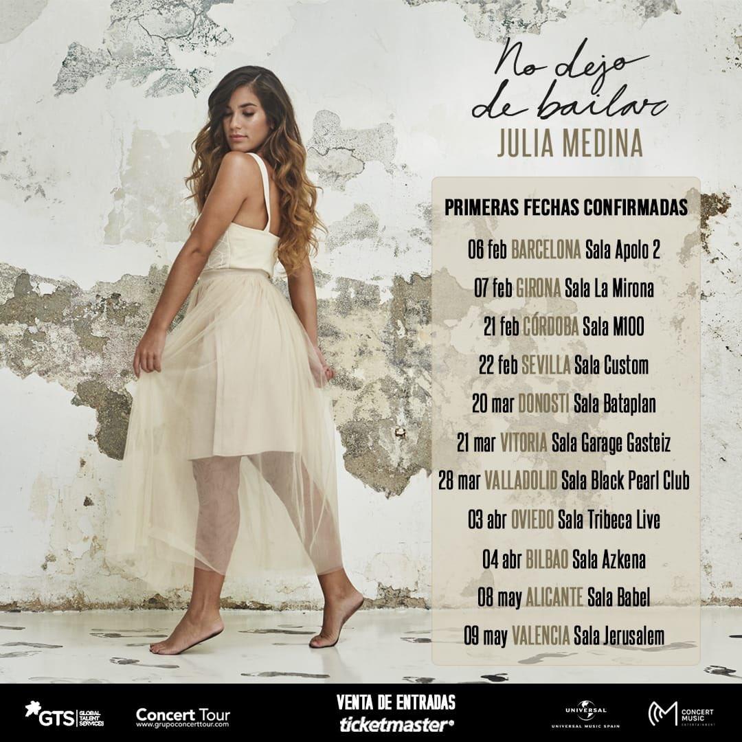 Julia Medina Tour No Dejo De Bailar 2020