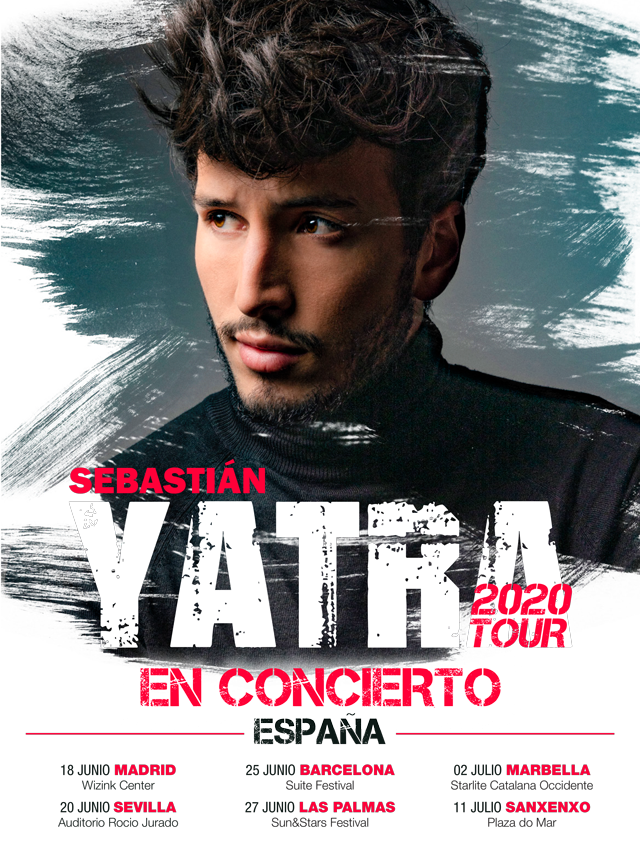 Sebastian Yatra Tour 2020-Cartel 1