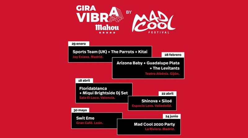 vibra mahou mad cool