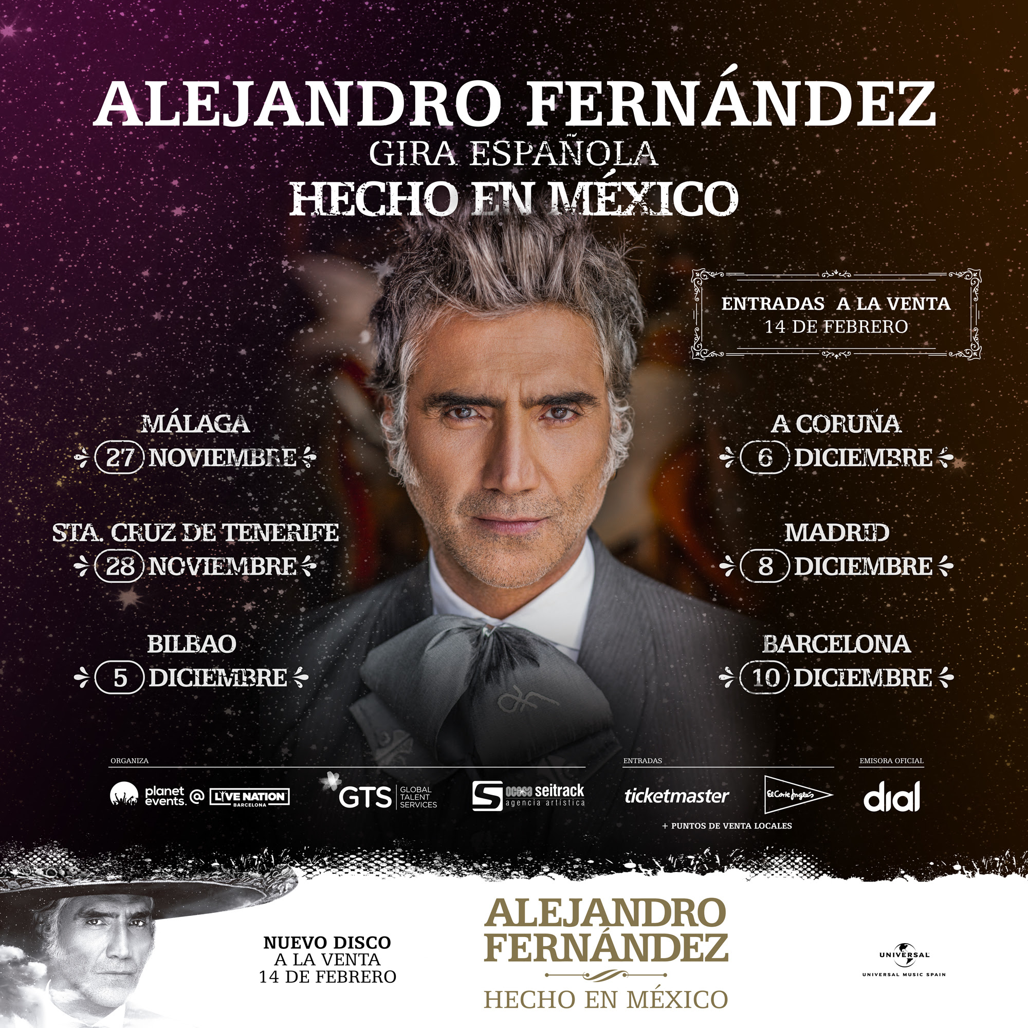 alejandro fernandez gira española