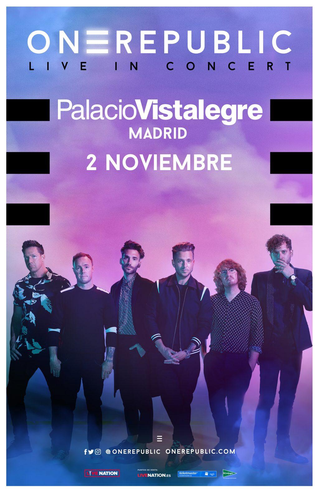OneRepublic-2020-único-concierto-España