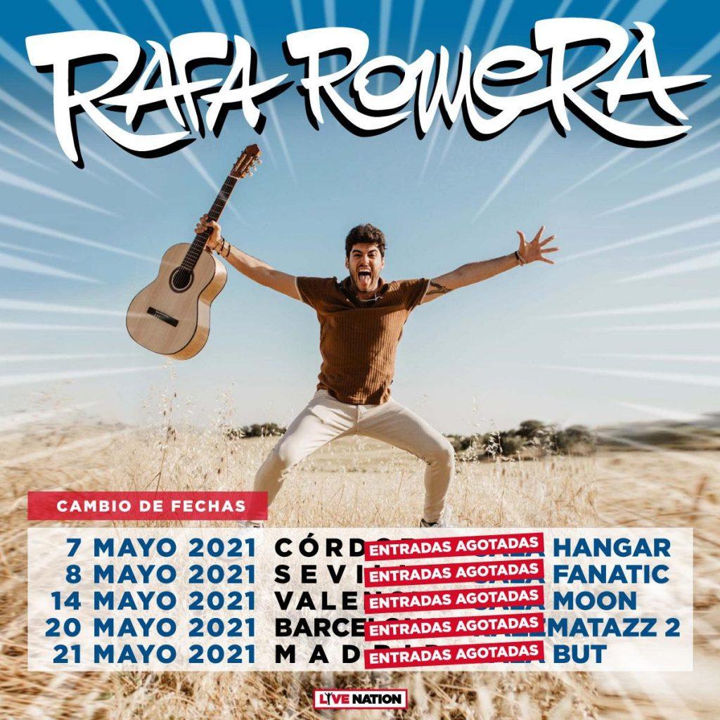 Rafa Romera pospone 2021