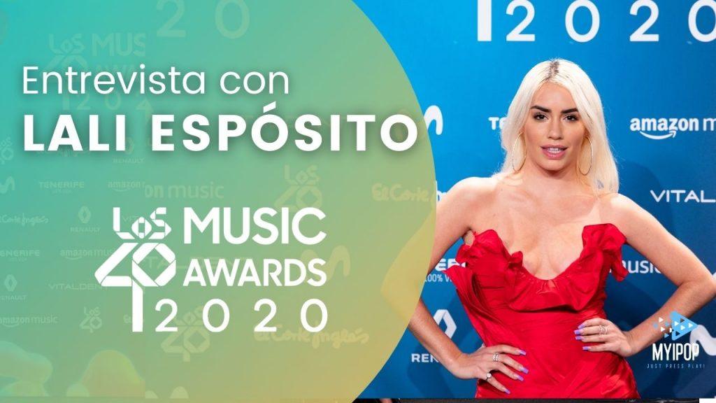 LALI - LOS40 Music Awards 2020