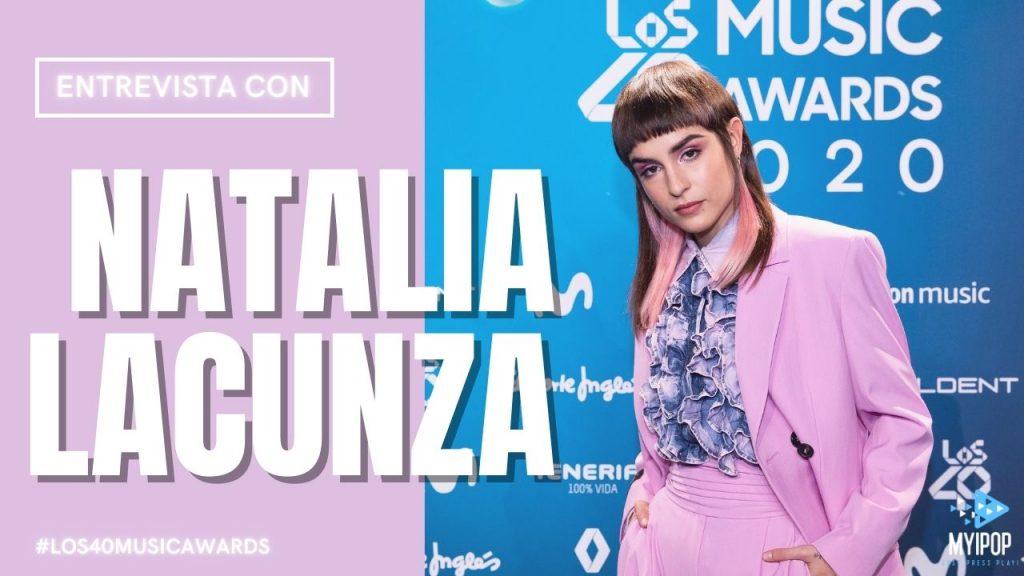 Descubre qué nos ha contado Natalia Lacunza en la alfombra virtual de LOS40 Music Awards 2020 nominada a Artista Revelación.