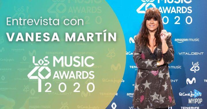 """Vanesa Martín llega a la alfombra virtual de LOS40 Music Awards después de conquistarnos con el lanzamiento de """"Siete Veces Sí""""."""