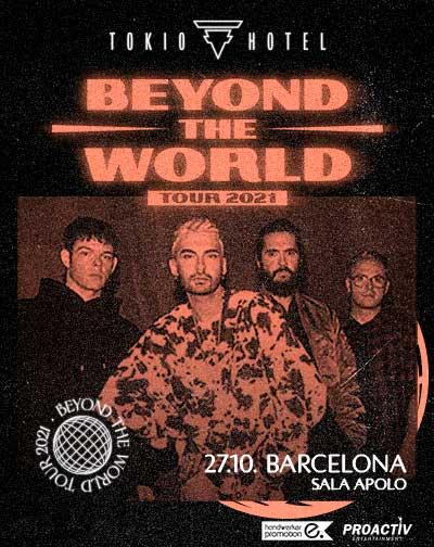 Tokio Hotel - Beyond The World Tour 2021