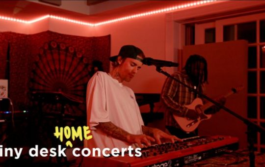 justin bieber - tiny desk concerts