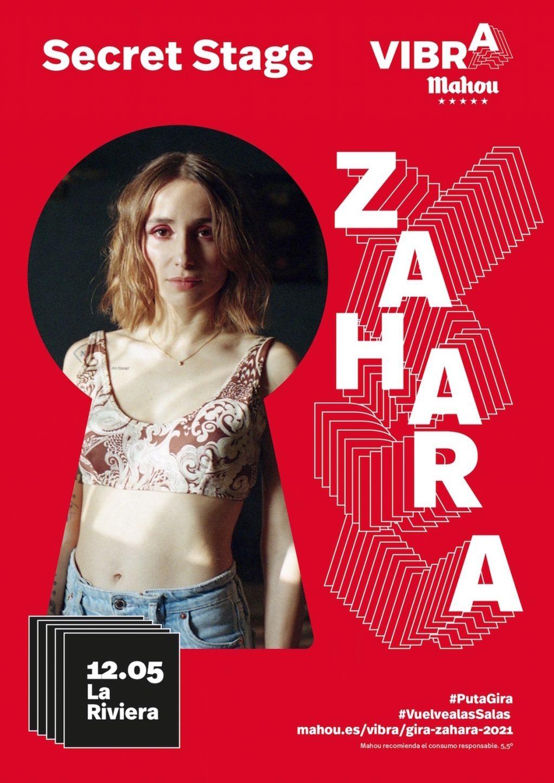 Zahara Secret Stage - Vibra Mahou