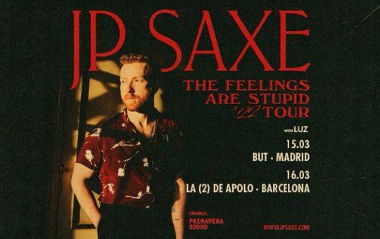 JP Saxe - Madrid, Barcelona, 2022
