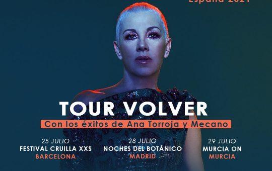 Ana Torroja - Tour Volver