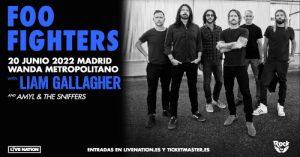 Foo Fighters Madrid 2022