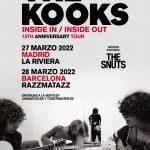 The Kooks celebrarán 15 años de 'Inside In/Inside Out' en España en 2022