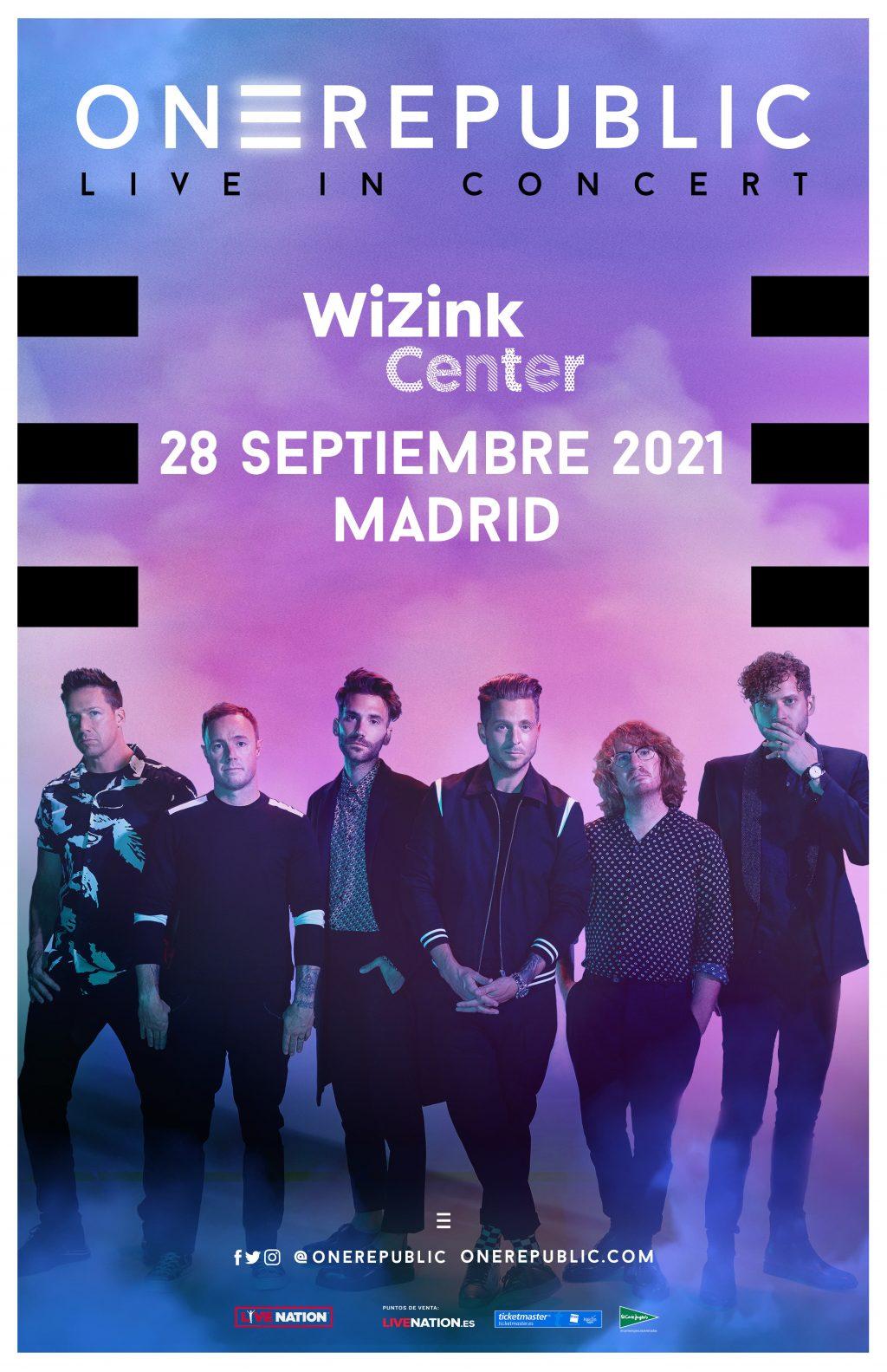 OneRepublic España 2022