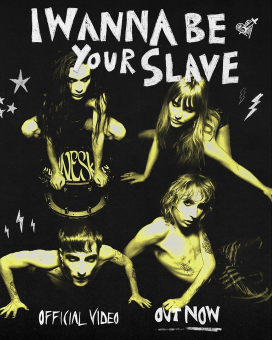 i wanna be your slave - Maneskin