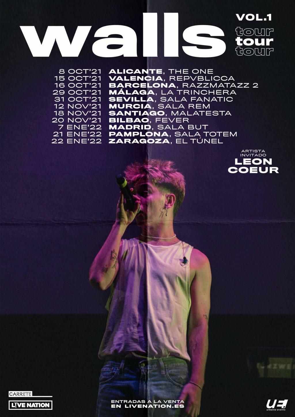 Walls Tour Vol. 1