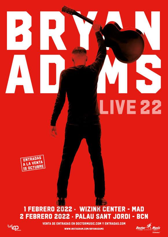 Bryan Adams Live 22 España