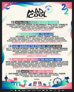 Mad Cool Festival 2022 - nuevas confirmaciones