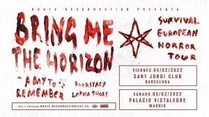 Bring Me The Horizon - España 2022